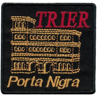 AUFNÄHER - Trier - 00042 - Gr. ca 8 x 8 cm - Patches Stick Applikation
