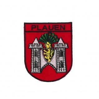 Aufnaeher Patches Applikation Stickemblem 6 x 7,4 cm Wappen Koblenz 05432
