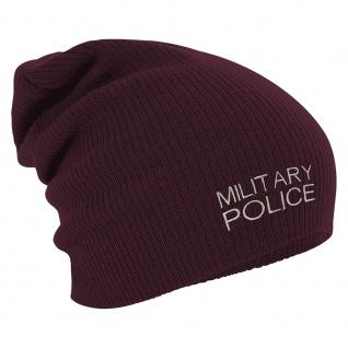Longbeanie Slouch-Beanie Wintermütze Military-Police 54851