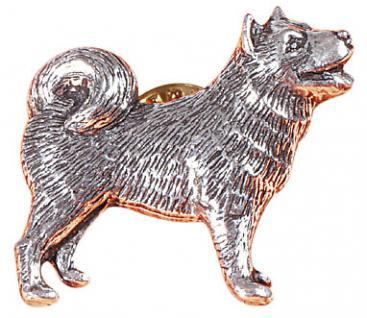 Anstecknadel - Metall - Pin - Husky - Hund - 02620