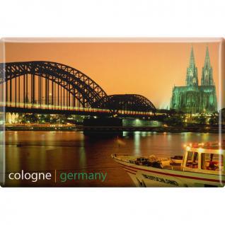 Magnet - Cologne Germany - Gr. ca. 8 x 5, 5 cm - 38773 - Kühlschrankmagnet Küchenmagnet