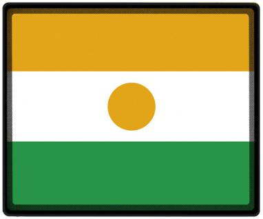 Mousepad Mauspad mit Motiv - Niger Fahne Fußball Fußballschuhe - 82120 - Gr. ca. 24 x 20 cm