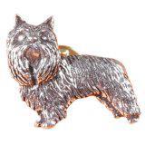 Anstecknadel - Metall - Pin - Westi - Hund Größe ca 25 x 30 mm - 02615