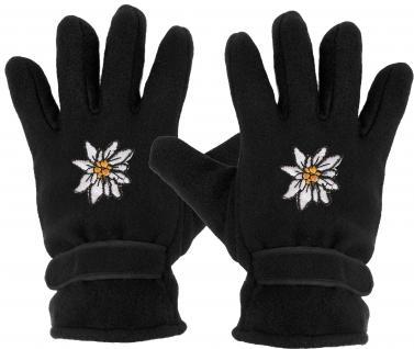 Handschuhe - Fleece - Edelweiss - 31501 - Vorschau