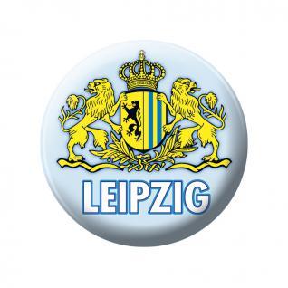 Magnet - LEIPZIG - Gr. ca. 5, 7 cm - 16042 - Küchenmagnet