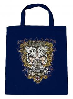 (U10831)Umweltfreundliche Baumwoll - Tasche , ca. 28 x 43 cm mit Aufdruck in 7 Farben Navy