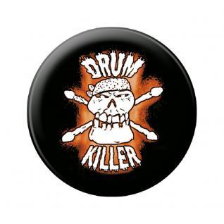 Magnetbutton - Drum Killer - 16624 - Gr. ca. 5, 7 cm