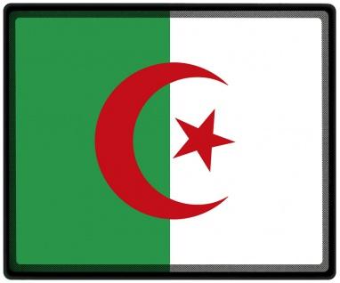 Mousepad Mauspad mit Motiv - Algerien Fahne - 82009 - Gr. ca. 24 x 20 cm