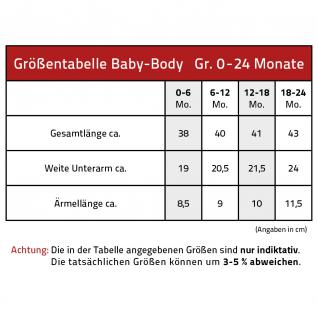 Babystrampler mit Print ? Pirat Seeräuber - 08368 schwarz Gr. 6-12 Monate - Vorschau 2