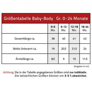 Babystrampler mit Print ? unverkäufliches Liebhaberstück - 08492 schwarz - Gr. 0-6 Monate - Vorschau 2