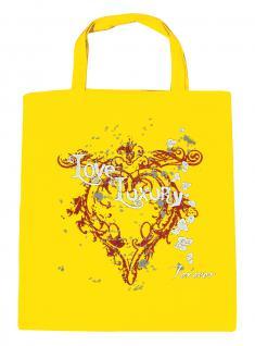 (U10835)Umweltfreundliche Baumwoll - Tasche , ca. 28 x 43 cm mit Aufdruck in 7 Farben gelb