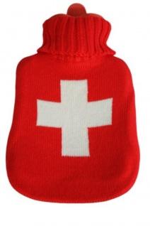 Wärmflasche Schweizer Kreuz 39112 rot