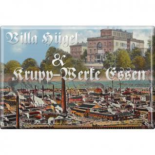 Magnet - KRUPP-WERKE ESSEN - Gr. ca. 8 x 5, 5 cm - 38274 - Küchenmagnet