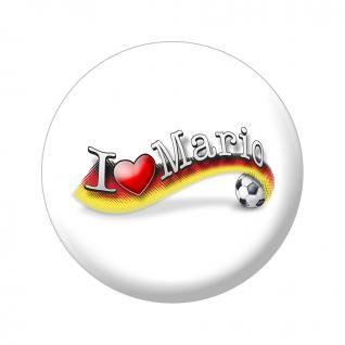 MAGNET - I love Mario - Gr. ca. 5, 7 cm - 16227 - Küchenmagnet