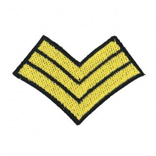 Aufnäher Patches Abzeichen Marine 3 Streifen Gr. ca. 7, 3 x 5, 1 cm 07532