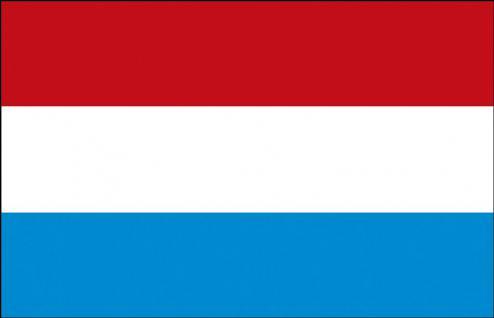 Stockländerfahne - Luxemburg - Gr. ca. 40x30cm - 77096 - Schwenkflagge Fahne Flag