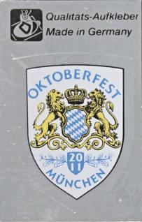 PVC Wappen - Aufkleber - Oktoberfest München - 301511-1 - Gr. ca.