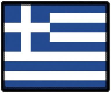 Mousepad Mauspad mit Motiv - Griechenland Fahne - 82056 - Gr. ca. 24 x 20 cm