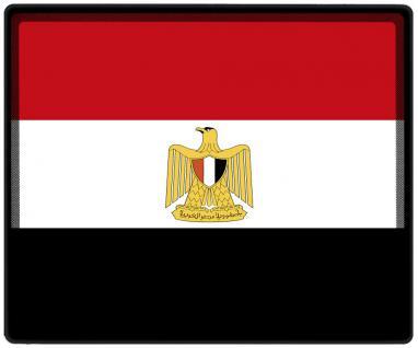 Mousepad Mauspad mit Motiv - Ägypten Fahne Fußball Fußballschuhe - 82001 - Gr. ca. 24 x 20 cm