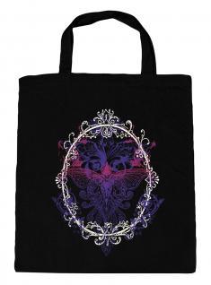 (U09582)Umweltfreundliche Baumwoll - Tasche , ca. 28 x 43 cm mit Aufdruck in 7 Farben schwarz
