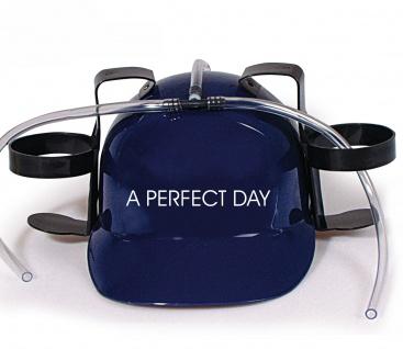 Trinkhelm Spaßhelm mit Print - A Perfect Day - 51615