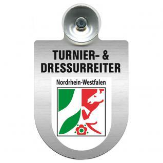 Einsatzschild Windschutzscheibe incl. Saugnapf - Turnier- und Dressurreiter im Einsatz - 309471-8 Region Nordrhein-Westfalen