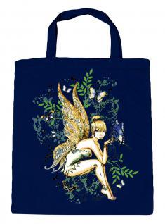 (U10972)Umweltfreundliche Baumwoll - Tasche , ca. 28 x 43 cm mit Aufdruck in 7 Farben Navy