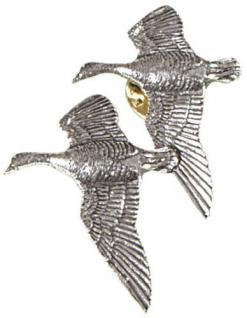 Anstecknadel - Metall - Pin - Wildgänse - Größe ca 4 x 3 cm - 05628