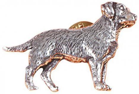 Anstecknadel - Metall - Pin - Labrador - Hund Größe ca 4 x 3 cm - 02613