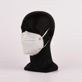 100 Stück FFP2 Maske - Deutsche Herstellung CE2797 zertifiziert - Atemschutzmaske - 15205