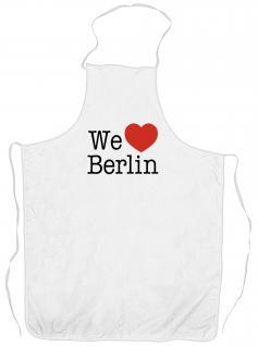 (10558-Schürze) Grillschürze ? Berlin?
