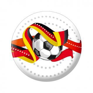 Kühlschrankmagnet - Fußball - Gr. ca. 5, 7 cm - 16228 - Magnet Küchenmagnet