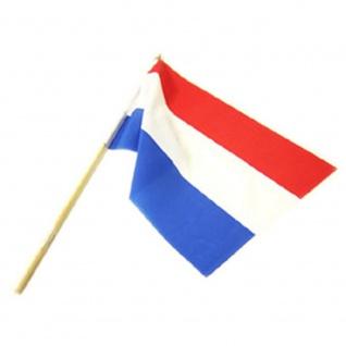 20 x Stockfahne Fahne mit Stock Sonderpreis Restposten Niederlande - 042