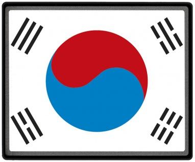 Mousepad Mauspad mit Motiv - Südkorea Fahne - 82138 - Gr. ca. 24 x 20 cm