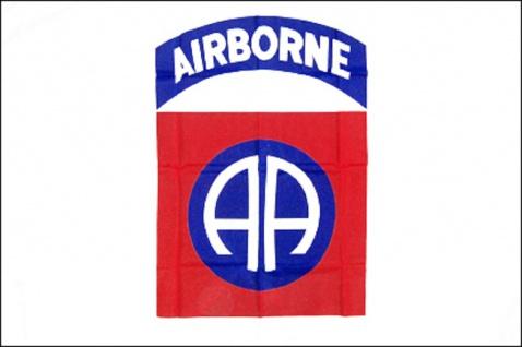 Flagge mit Motiv - Airborn - Gr. 150cm x 90cm - 24303 - Dekoflagge