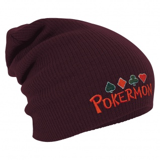 Longbeanie Slouch-Beanie Wintermütze Pokermon 54865