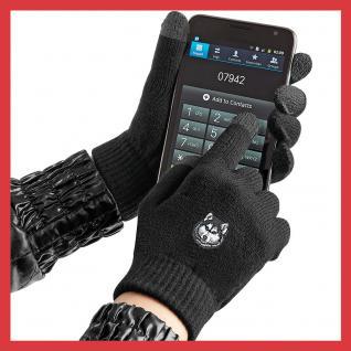 (31652)Touch Handschuhe mit Spezialeinsätzen an den Fingerkuppen in 8 Mitiv- Varianten S/M / Husky