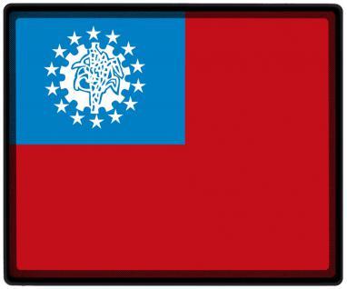 Mousepad Mauspad mit Motiv - Asien Fahne Fußball Fußballschuhe - 82017 - Gr. ca. 24 x 20 cm - Vorschau