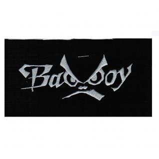 Aufnäher - Bad Boy - 00621 - Gr. ca. 13, 5 x 6 cm - Patches Stick Applikation