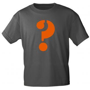 """Marken T-Shirt mit brillantem Aufdruck """"?"""" 85121-?"""