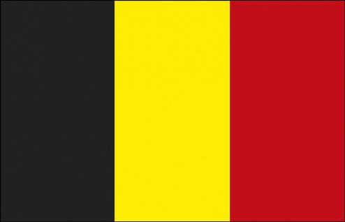Stockländerfahne - Belgien - Gr. ca. 40x30cm - 77023 - Schwenkflagge
