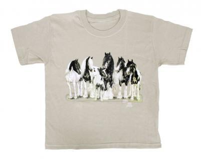 Kinder-T-Shirt mit Print - Tinkerfamilie - ©Kollektion Bötzel - 08251 sandfarben - Gr. 86-164