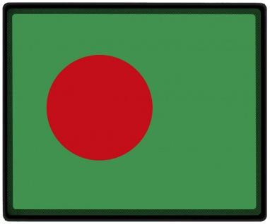 Mousepad Mauspad mit Motiv - Bangladesch Fahne - 82021 - Gr. ca. 24 x 20 cm