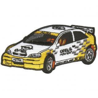 AUFNÄHER - Sportwagen Motorsport Auto - 04795 - Gr. ca. 10 x 5 cm - Patches Stick Applikation