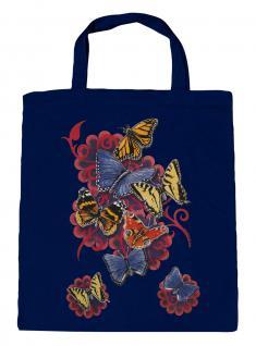 (U09842)Umweltfreundliche Baumwoll - Tasche , ca. 28 x 43 cm mit Aufdruck in 7 Farben Navy