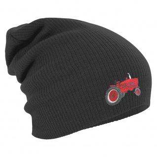 Longbeanie Slouch-Beanie Traktor 55366