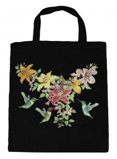 (U06996)Umweltfreundliche Baumwoll - Tasche , ca. 28 x 43 cm mit Aufdruck in 7 Farben schwarz