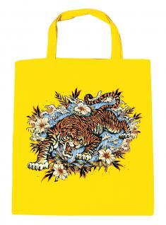 (U10973)Umweltfreundliche Baumwoll - Tasche , ca. 28 x 43 cm mit Aufdruck in 7 Farben gelb