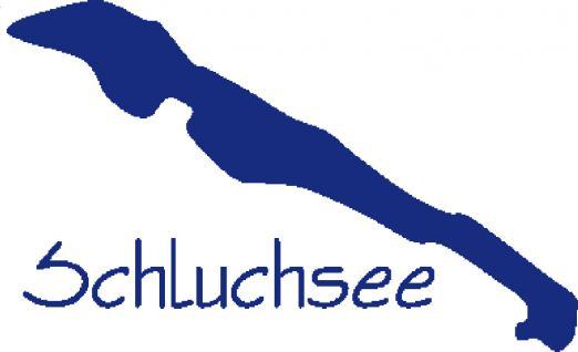 "PVC- Applikations- Aufkleber "" Schuchsee"" in 8 Farben, 25 cm groß AP2001 blau"