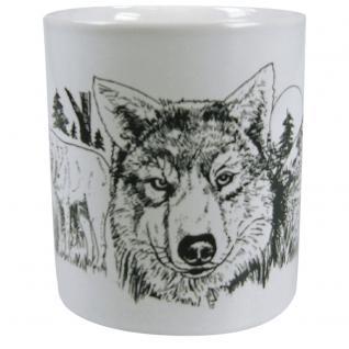 Tasse Kaffeebecher Wolf 57141